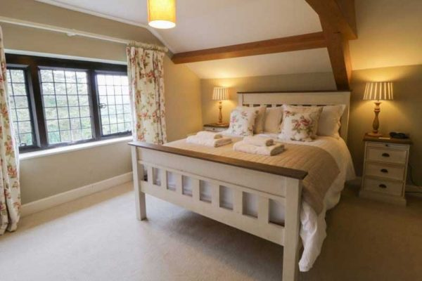 Ladstock Hall double room