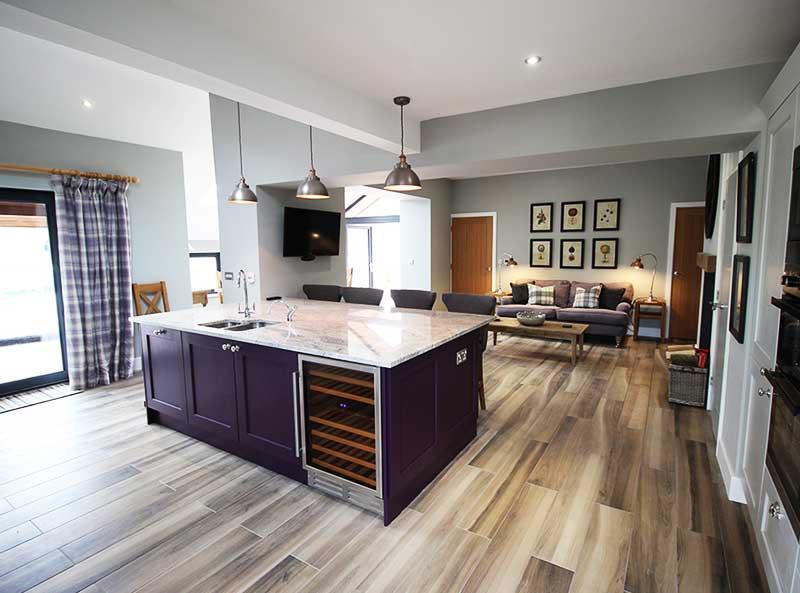 Ullswater view kitchen